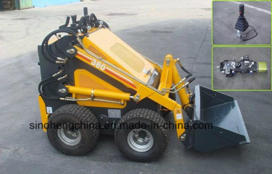 Mini Skid Steer Mini Loader Hy380 0.15m3 0.2ton with CE pictures & photos