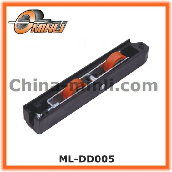 Nylon Roller in Plastic Bracket with Double Roller (ML-DD005) pictures & photos