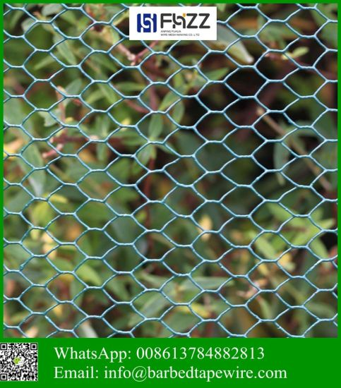 "1/2"" (12.5mm) Woven Hexagonal Stainless Steel Metal Wire Mesh"