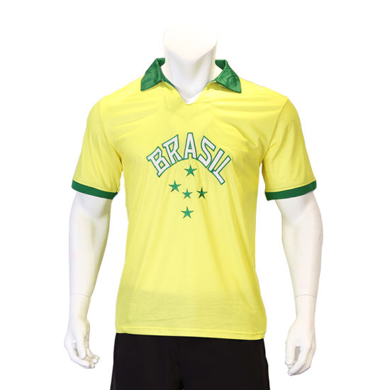 China Supplier Dye Sublimation Soccer Jersey for Team Custom Soccer Shirt pictures & photos