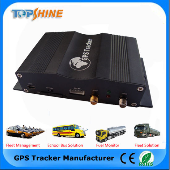 Anti GPS Tracker Device with Camera Vehicle GPS with RFID Car Alarm and Camera Port (VT1000) pictures & photos