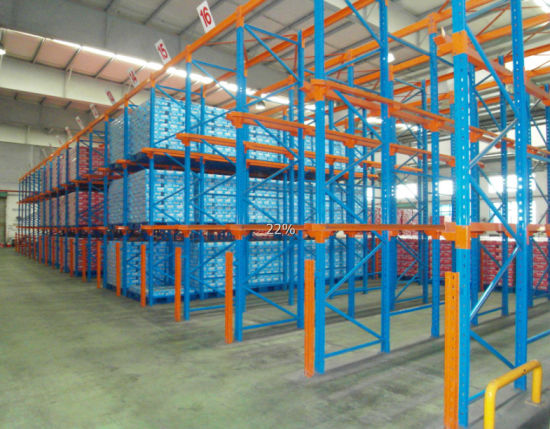 Warehouse Storage Pallet Racking with Forklift pictures & photos