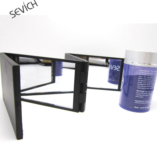Hair Beauty Excellent Functional Foldable Mirror and Hair Fiber