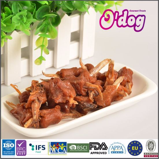 China Odog Homestyle Duck Wrap Little Fish For Pet Treats China