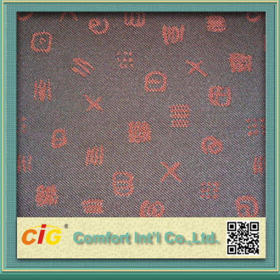 Shuttle Jacquard Fabric with Bonding (SAZD04345) pictures & photos