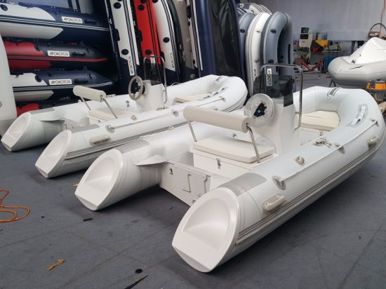 2018 High Quality 3.6m/ 4m 13.12FT Rigid Inflatable Rib Boat on Sale Fishing Boat