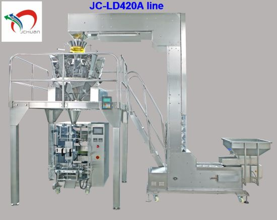 Food Automatic Packing Machine Line