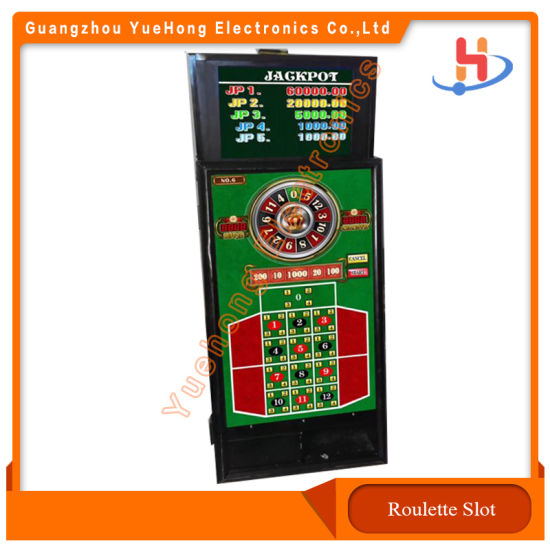 Lucky Numbers Roulette Gambling Jackpot Arcade Game Machines with Slot Cabinet