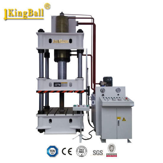 Jinqiu Factory New or Used Customized Four Column Hydraulic Power Press Machine pictures & photos