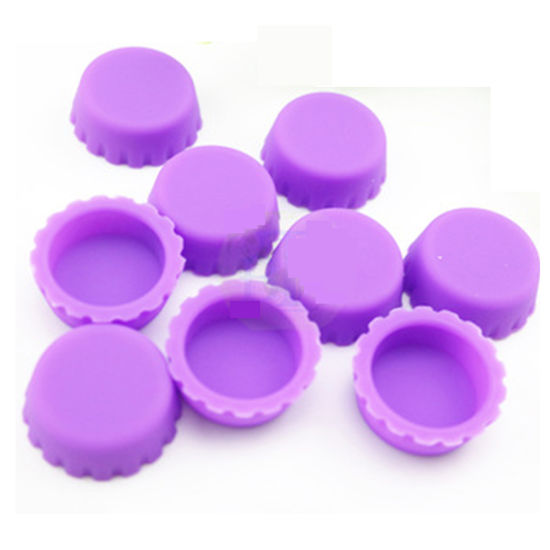 Household Silicone Rubber Milk Bottle Cap / Silicone Bottle Cap Cover pictures & photos