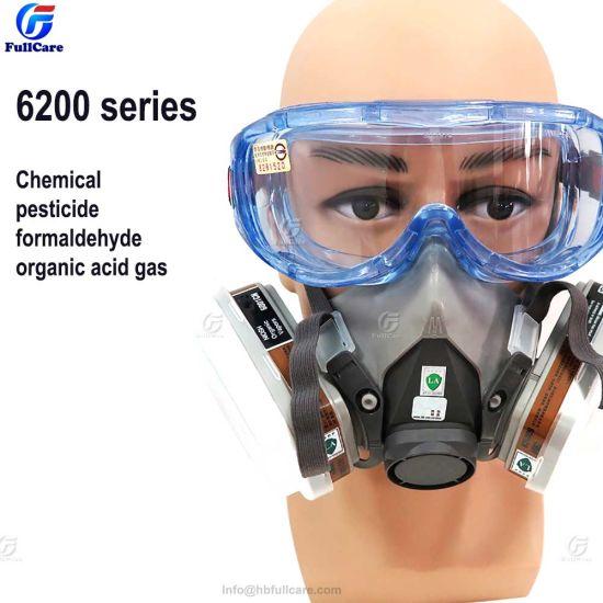 Half Dust Respirator Anti Face Construction Mask Industrial Reusable Gas