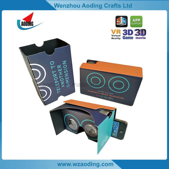 Promotional Virtual Reality 3D Google Cardboard Glasses Google Vr Headset