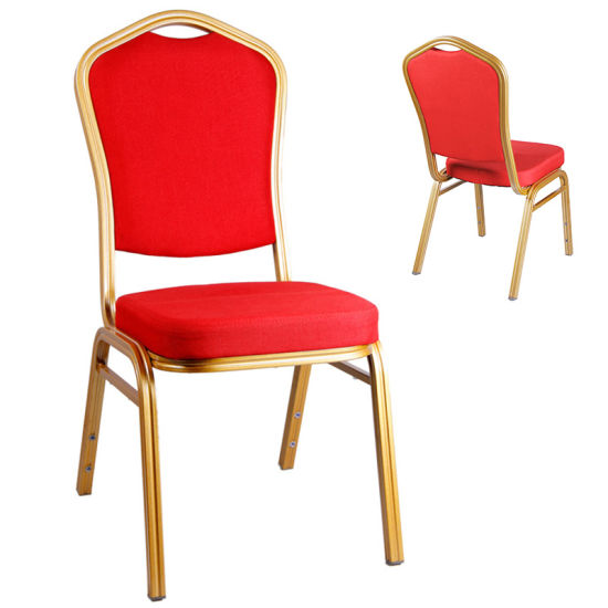Foshan Factory Stacking Classical Use Metal Banquet Chair (HM-S008)