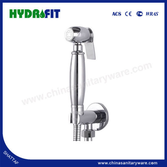 Hot Sale Hand Held Bidet Sprayer Brass Shattaf Set With Shower Hose Hy2606 China Shattaf Shower Head Made In China Com