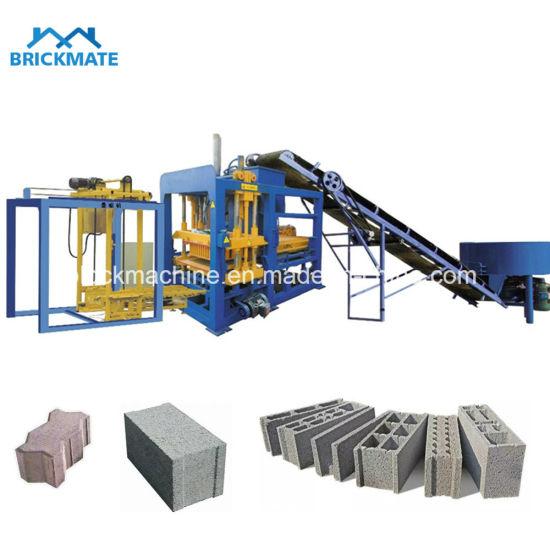 Construction Machinery Qt4-18 Automatic Hydraulic Concrete Brick/ Block Making Machine Price