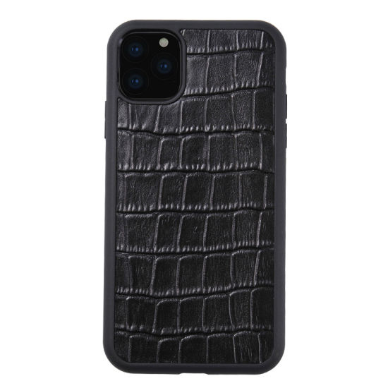 New Arrival Good Quality Crocodile Grain Leather Mobile Phone Cases iPhone Cases for iPhone 11 pictures & photos