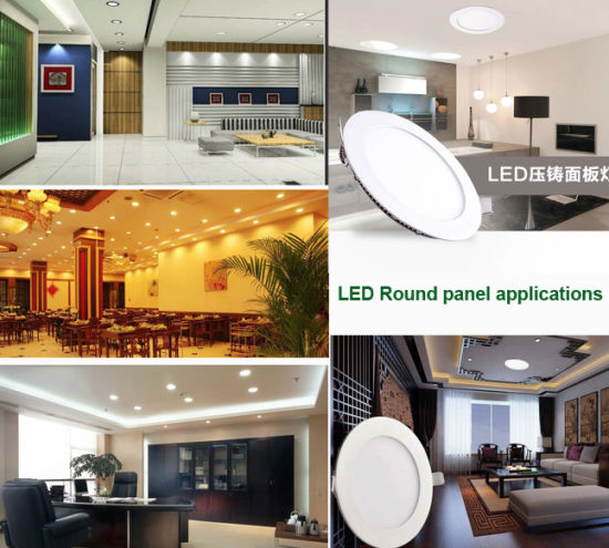 High Brightness 20W Ultra- Slim LED Round Panel Light pictures & photos