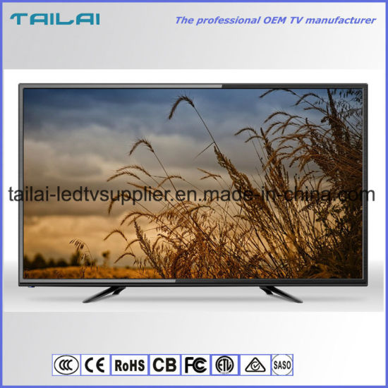 "55"" Full HD Ultra Slim Flat Screen LED TV Display with New Original a Panel"