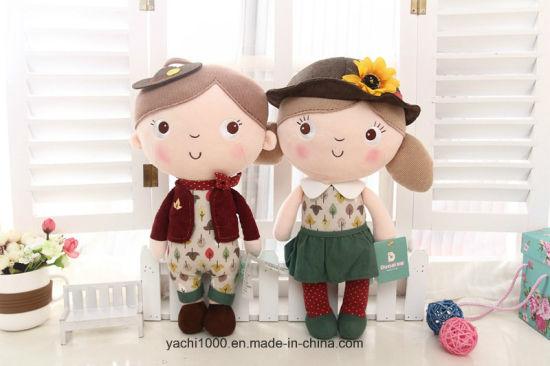 Custom Stuffed Small Mascot Plush Children Toy Baby Rag Girl Doll