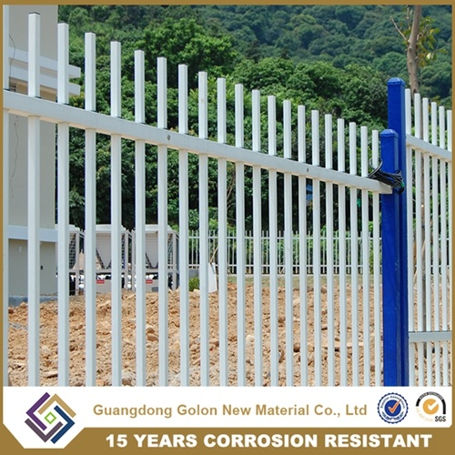 OEM & ODM Steel Fence / Galvanized Tube Fence Panel and Post pictures & photos