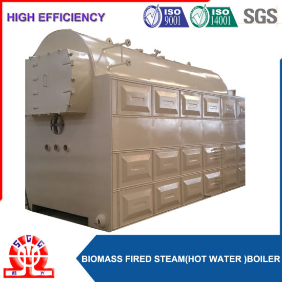 China Packaged Working Pressure 1.0MPa Wood Fired Steam Boiler ...