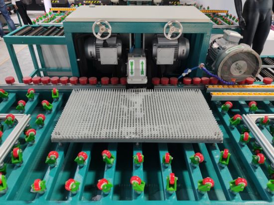Glass Machinery New Product Double Head Edge Glass Grinding Machine with High Hardness