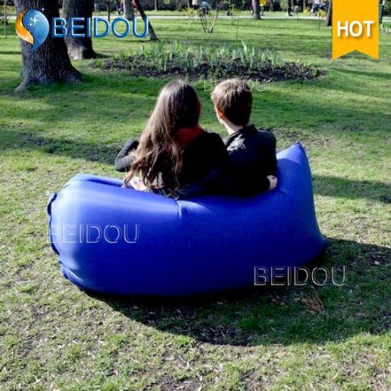 Wholesale Inflatable Lounge Air Hammock Bean Bag Sex Sofa Chair