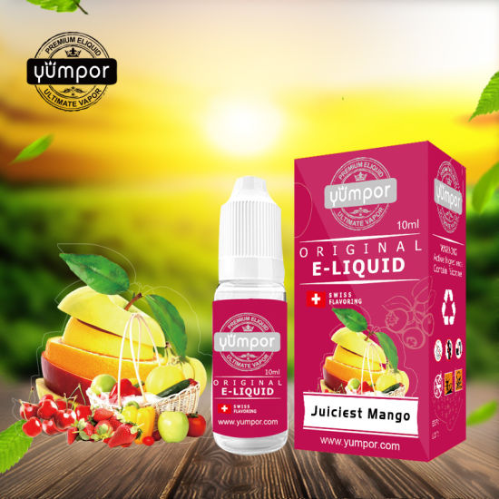 Top Quality Eliquid Juiciest Mango OEM Eliquid From Yumpor pictures & photos