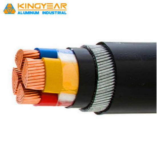 Low Voltage Copper/Aluminum Conductor XLPE/PVC Insulated Sta/Swa Armoured Electric Power Cable 0.6/1kv pictures & photos