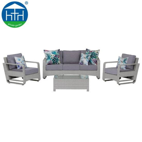 Rattan Sofa Sets Outdoor Garden