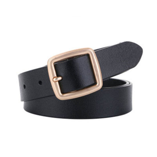 Fashion Simple Style Real Leather Women's Accessories Belt