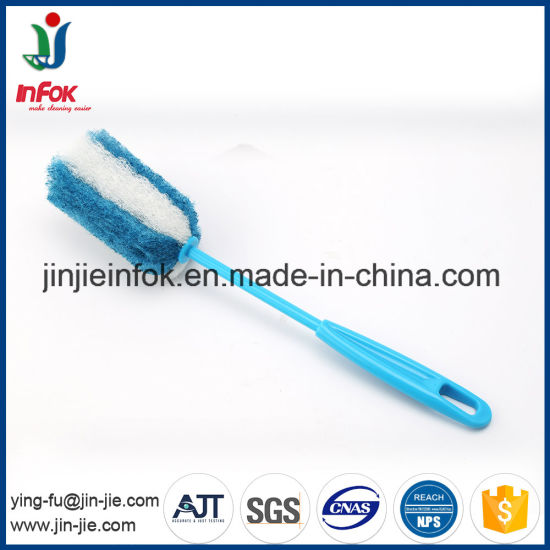 (YF01-42) Plastic Handle Kitchen Glass Tin Cup Bottle Washing Cleaning Brush pictures & photos