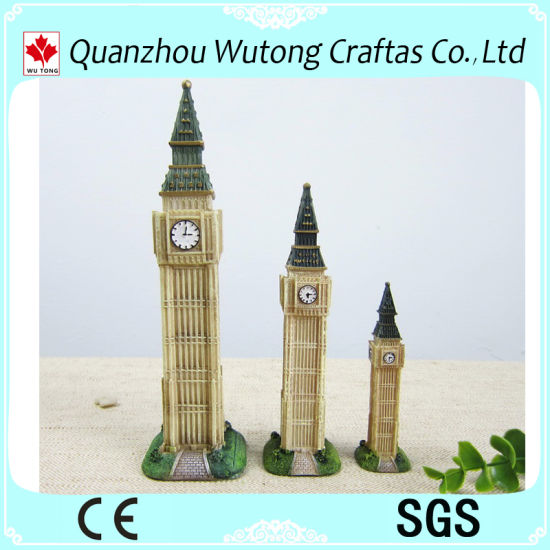Hotsale London Elizabeth Tower Model Polyresin Souvenir Gifts pictures & photos