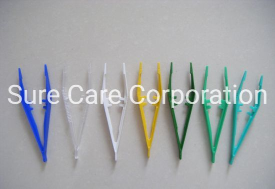 Medical Disposable Plastic Forceps with High Quality