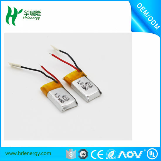 Hrl 401220 55mAh Lithium Polymer Battery Cell pictures & photos