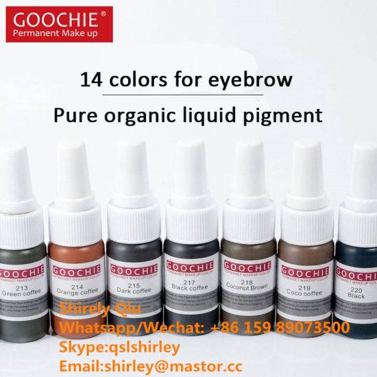 Goochie Cosmetics 15ml Plant Tattoo Ink/Pigment
