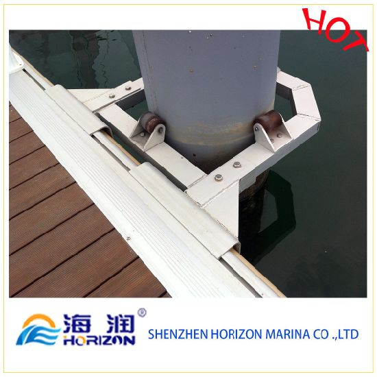 Good Quality Pile Guide for Floating Pontoon Bridge Dock pictures & photos