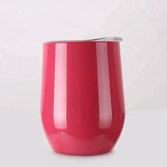 Promotional Gift Metal Vacuum Flask Eggshell Cup Coffee Mug