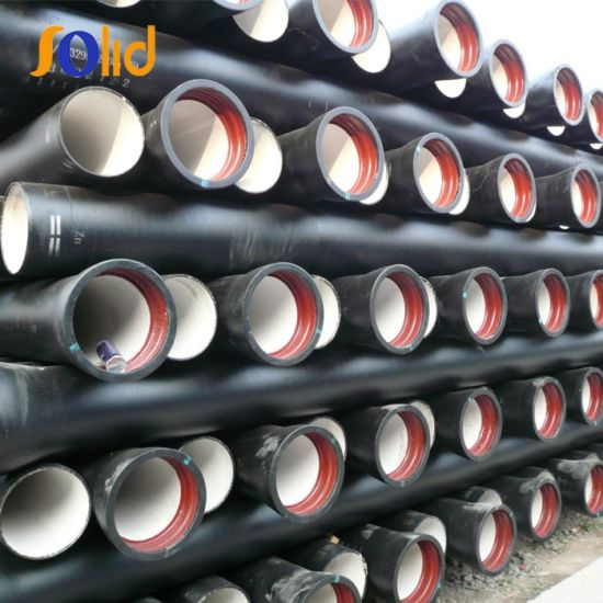 Galvanized Cement Lined Epoxy Coated ISO2531 Ductile Iron Pipe