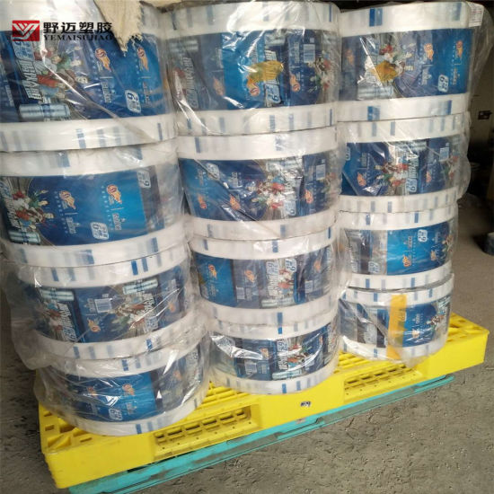 Plastic PE Packaging Material Shrink Wrapping Film with Printing Design