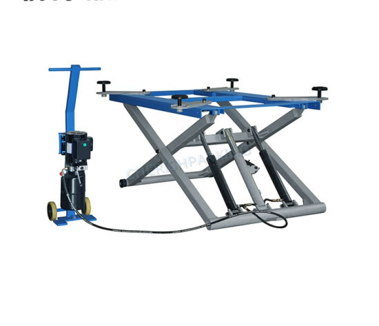 Lifting Height 1200mm Hydraulic Scissor Car Lift for Home Garage