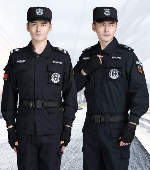 Wholesale Bespoke Design Breathable Anti Abrasion Heavy Duty Unisex Security Uniform for Police Jacket Suit Clothes Work Wear