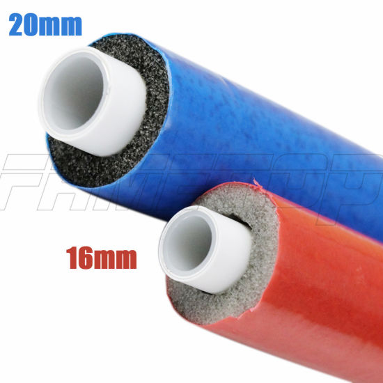 China Pex Al Pex Pipe With Insulation For Hot Water And Heating China Pex Al Pex Pipe With Insulation Pex Pipe With Insulation