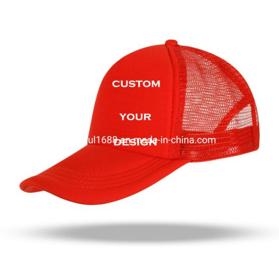 Unisex Breathable Custom Caps Suitable for Outdoor Trucker Snapback Hats