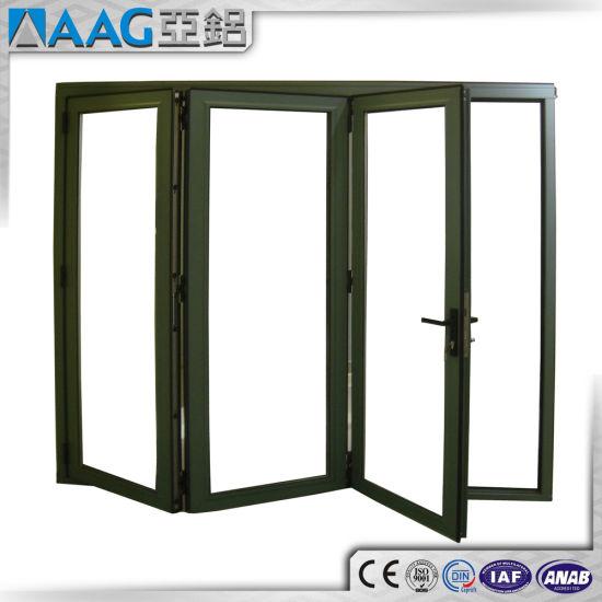 China Australian/USA/EU Standard Aluminum/Aluminium Bi-Folding Doors ...