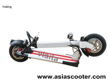 400W Foldable Electric Scooter with Lithium Battery Vst-Es002 pictures & photos