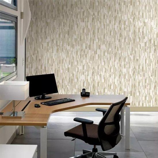 China Classic 3d Damascus Luxury Environmental Non Woven Wallpaper