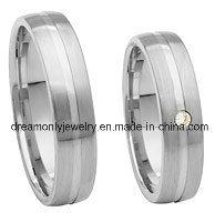 Wholesale Fashion Jewelry Women Ladies 925 Sterling Silver Diamond Wedding Couple Rings