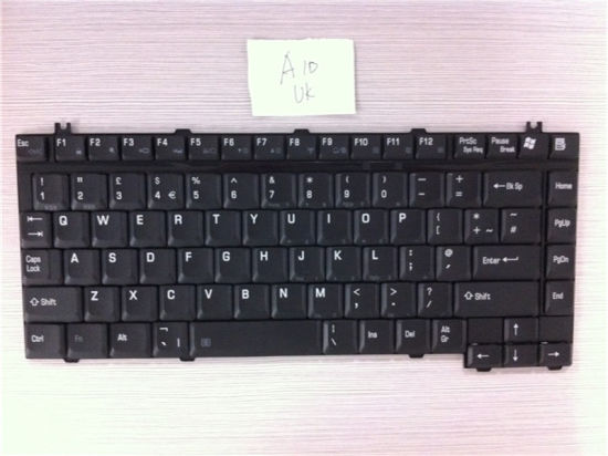 UK Layout Laptop Keyboard for Toshiba Tecra A10 A20 A30