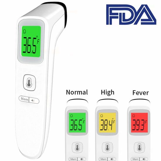 Medical Supplies Baby Infrared LCD Digital Bluetooth Function Body Non-Contact IR Adult Infrared Thermometer